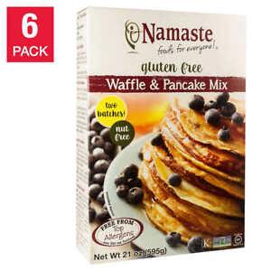 Namaste Gluten Free Waffle & Pancake Mix 21 oz., 6-pack