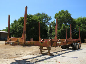 Viking V4B40F Forestry 4 Bolster Log Trailer Air Brakes bidadoo -Repair