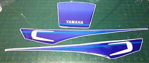 yamaha xt600 3tb bianco fuxia kit tabelle - adesivi/adhesives