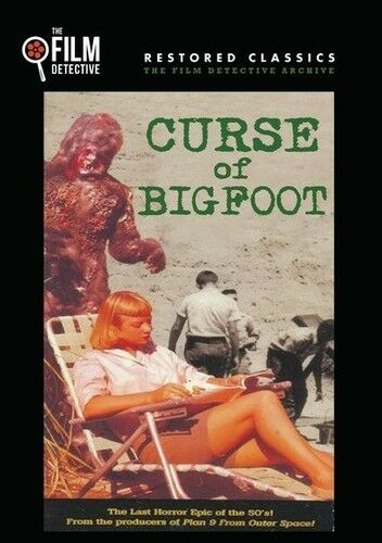 Curse Of Bigfoot [New DVD] Manufactured On Demand, Restored