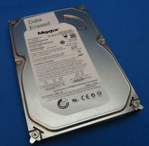 """1 of 1 - 160GB Maxtor STM3160215AS DiamondMax F/W:4.AAB 3.5"""" SATA Hard Drive 9DS112-329"""