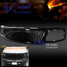 99-03 Ford F150 Expedition Glossy Black Hood Vertical Grill Grille ABS