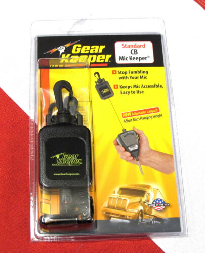 Gear Keeper CB mic Keeper retractor truck driver equipment 9oz force  RT4-4112