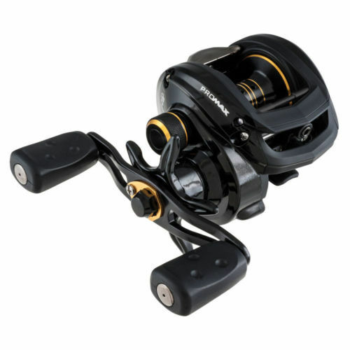 Abu Garcia Promax 3 Baitcaster Reel De Pesca Totalmente Nuevo + Trenza Gratis
