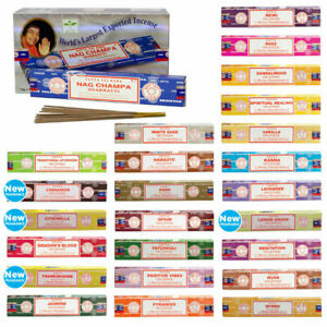 Genuine-Satya-Nag-Champa-Incense-Sticks-Insence-Joss-15g-Mixed-Scents-FROM-0-99P