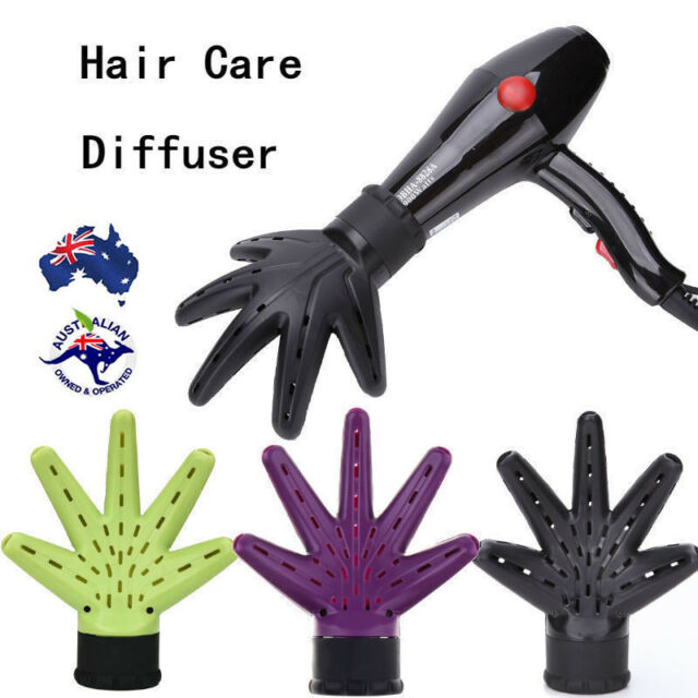 Hand Diffuser Hair Dryer Hairdressing Salon Curly Hair Style Tool Accessory Ha f