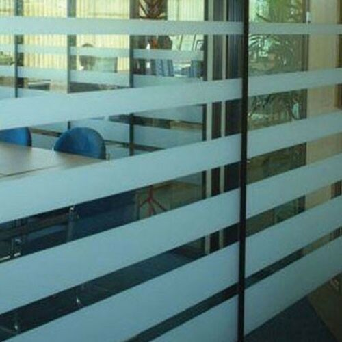 DIY Privacy Window Film Etched Glass Frosted Etch Self Adhesive Vinyl FablonType