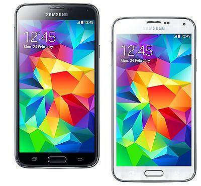 Samsung Galaxy S5 SM-G900H Octa Core (FACTORY UNLOCKED) Black/White/Blue/Gold