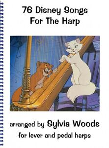 100% Vrai 76 Disney Chansons Pour La Harpe 000720000 Neuf-afficher Le Titre D'origine