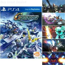 SD Gundam G Generation For PlayStation 4 Brand New Ps4 Games Factory Sealed