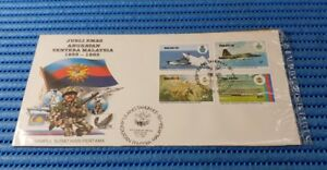 1983 Malaysia First Day Cover Golden Jubilee 50th Anniversary of the Armed Force