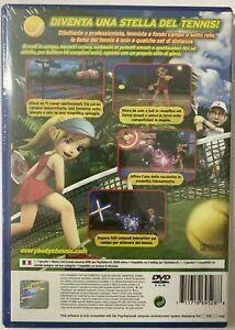 EVERYBODY'S Tennis sony PS2 PLAYSTATION 2 Pal Eur Eng Neu Versiegelt