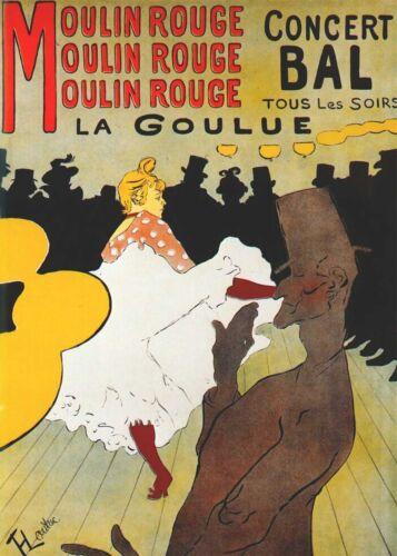 Lautrec # 01 cm 70x100 Poster Affiche Plakat Cartel Stampa Grafica Art papiarte