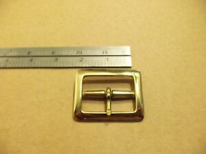 "3//4/""  Solid Brass belt buckle"