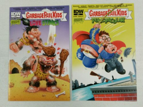 Garbage Pail Kids #1 2015 Comic Book Lot of 2 different covers gpk idw os1