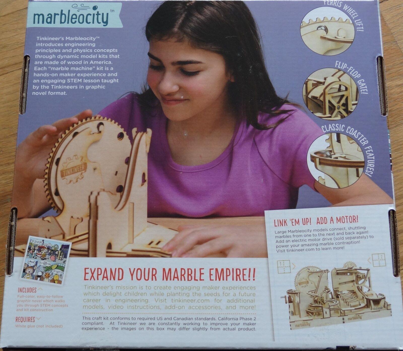 Dragon Coaster Maker Maker Maker Kit Tinkineer Marbleocity Marble Run MADC100BB 9735e3