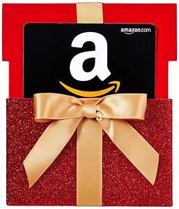 $400 Amazon Gift Card + Nice Gift Box, Fast 1-Day Shipping!