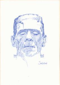 Frankenstein Sketch Art
