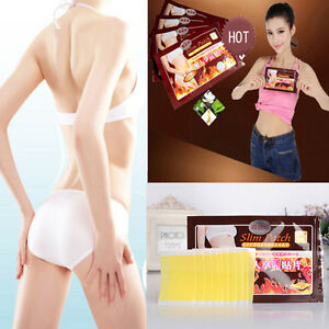 10 Slim Slimming Weight Loss Patches Burn Fat Body Wrap Trim Pads Detox Sheet OP 8771419117536
