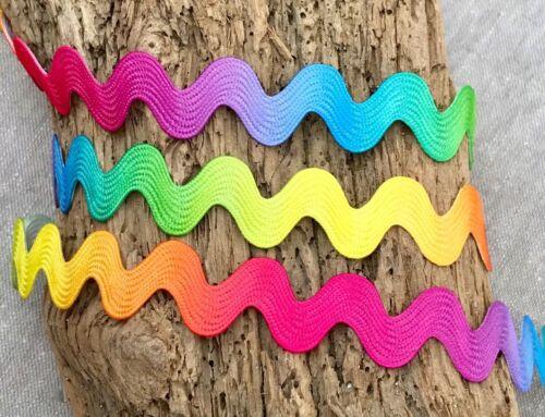Rainbow Ric Rac Crafts Jumbo Ric Rac 10mm Ric Rac Bright Embellishment