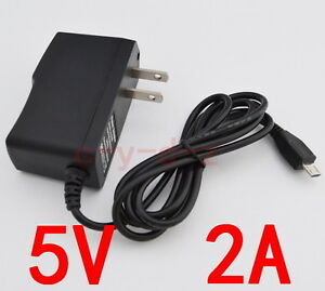 AC-Converter-Adapter-DC-5V-2A-Power-Supply-Charger-US-plug-2000mA-MICRO-USB-10W