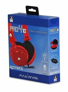 Officially Licensed Sony Pro4 10 Wired Gaming Headset For Ps4 Pro