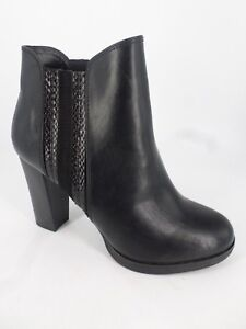 Details about Anna Field Ladies High Heeled Ankle Boots Black UK 6 EU 39 LN085 RR 04