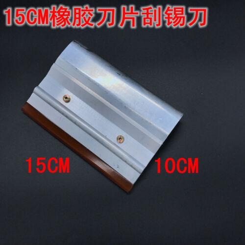 10cm 15cm 20cm 25cm 30cm Steel/&rubberSqueegee Scraping Board SMT Stencil Scraper