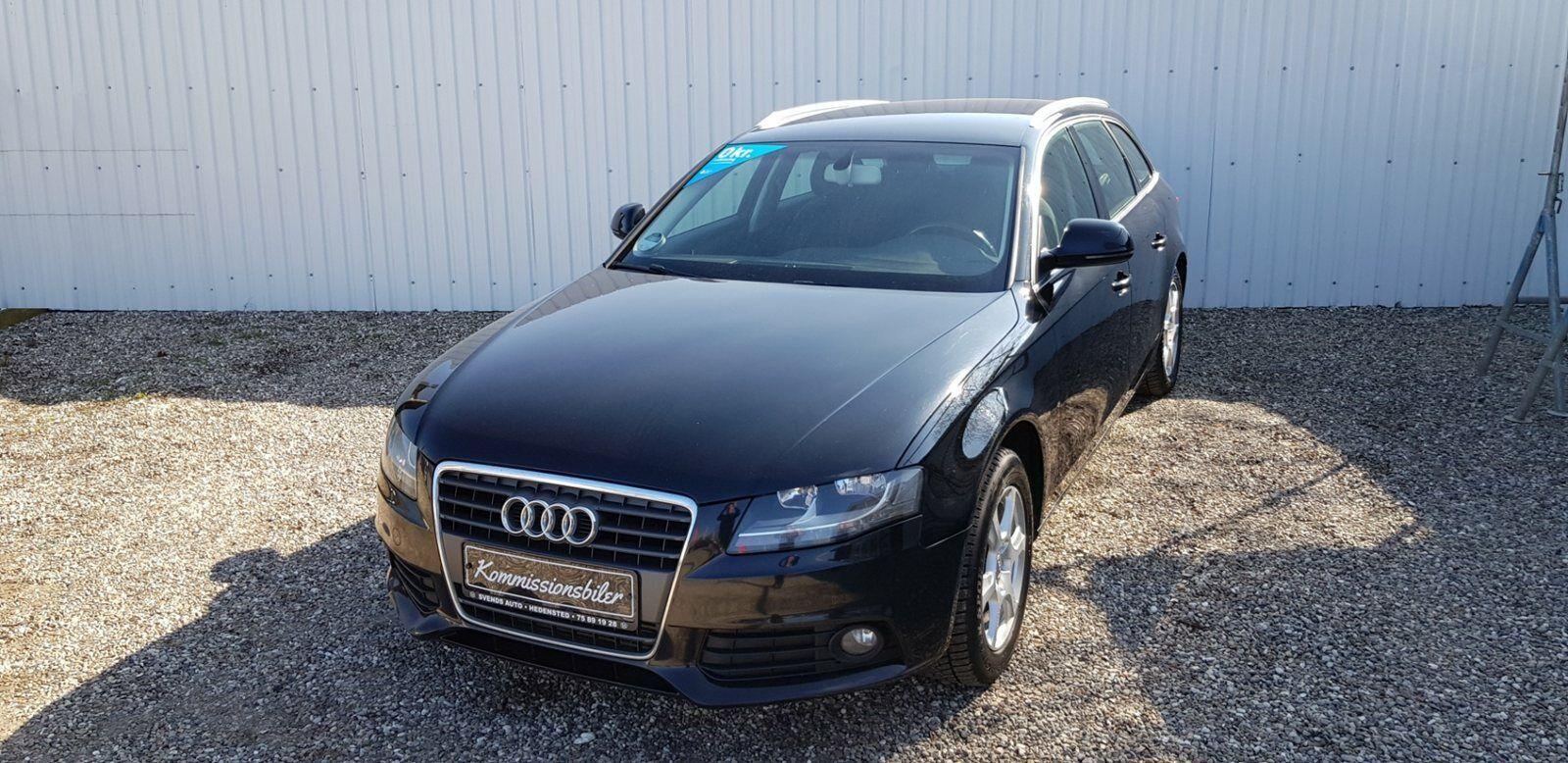 Audi A4 2,0 TDi 143 Avant 5d - 113.000 kr.