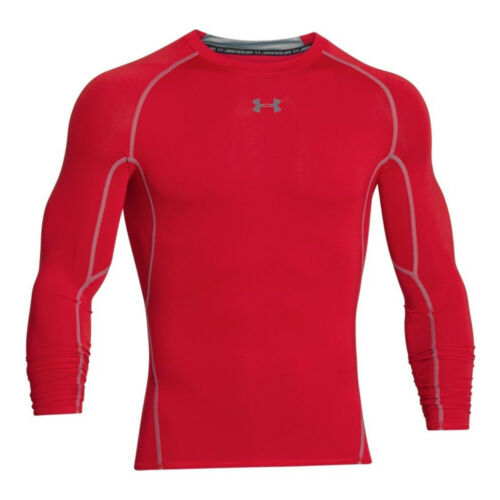 Under Armour HeatGear Armour Mens Long Sleeve Compression Shirt