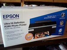 EPSON STYLUS PHOTO R280 Digital Photo Inkjet Printer, Brand NEW, OEM Sealed Box