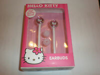 Hello Kitty Ear Buds Compatible With All Ipod/iphone Ipad Tablets & Mp3 Players