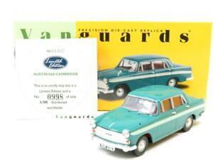 Corgi-Vanguards-VA04407-Austin-A60-Cambridge-Sutherland-Verde-1-43-ESCALA-en-Caja