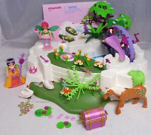 PLAYMOBIL-aus-Fairies-5475-Verzauberter-Kristallsee-Princess-Feen-Schatz-BA