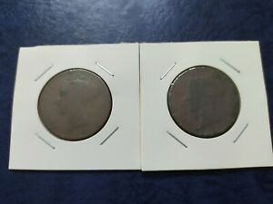 Queen-Victoria-One-Cent-Coin-2-Pcs