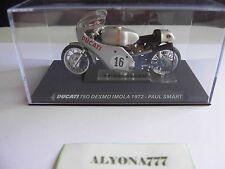 1/24 Ixo DUCATI 750 DESMO IMOLA 1972 PAUL SMART Bike Motorcycle 1:24 Altaya /IXO