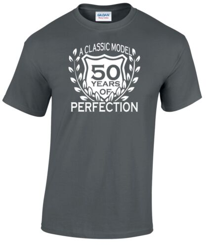 50th Birthday T-Shirt Classic Model Any  Age You Like 40th 30th 60th 70th 21st
