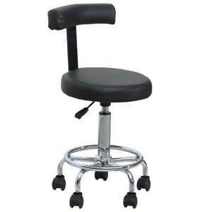 Fine Details About Height Adjustable Swivel Chair Rolling Chair With Backrest Salon Spa Equipment Caraccident5 Cool Chair Designs And Ideas Caraccident5Info