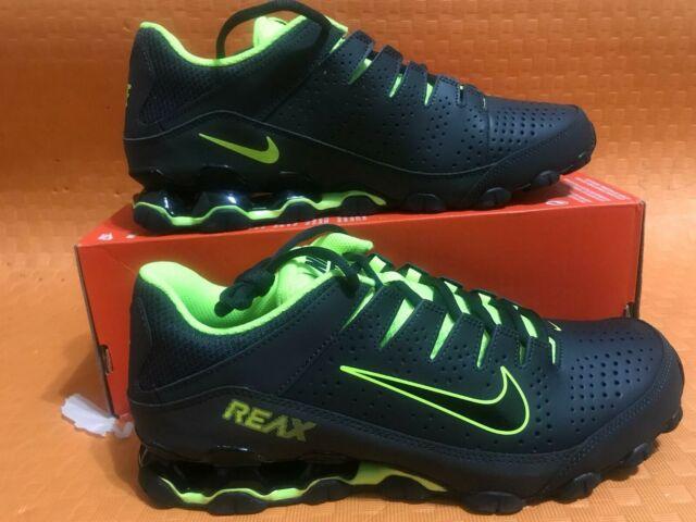 best service b85ca 1203f New brand Nike Reax 8 TR Anthracite Black-volt 616272 036 size 10 r