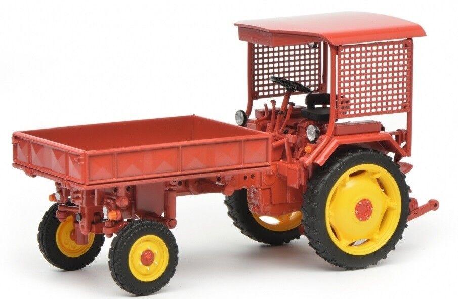 SCH7828 - Tracteur FORTSCHRITT RS09 GT124 avec plateau porte-outils BIENTOT DISP