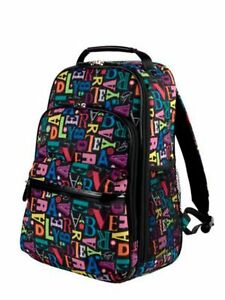 New-A-To-Vera-Bradley-Large-Backpack-School-Bag-Bookbag