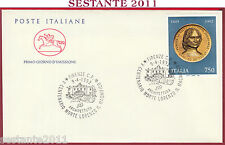 ITALIA FDC CAVALLINO LORENZO MEDICI IL MAGNIFICO ARCHITETTURA 1992 FIRENZE S238