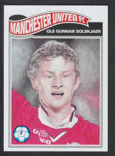 Topps Living Manchester United //688 UCL Champions League  # 10 O G Solskjaer