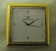 New Genuine Wedgwood / Seiko Quality Replacement Gold Metal Square Clock Fitting