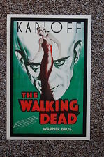 THE WALKING DEAD Lobby Card Movie Poster BORIS KARLOFF