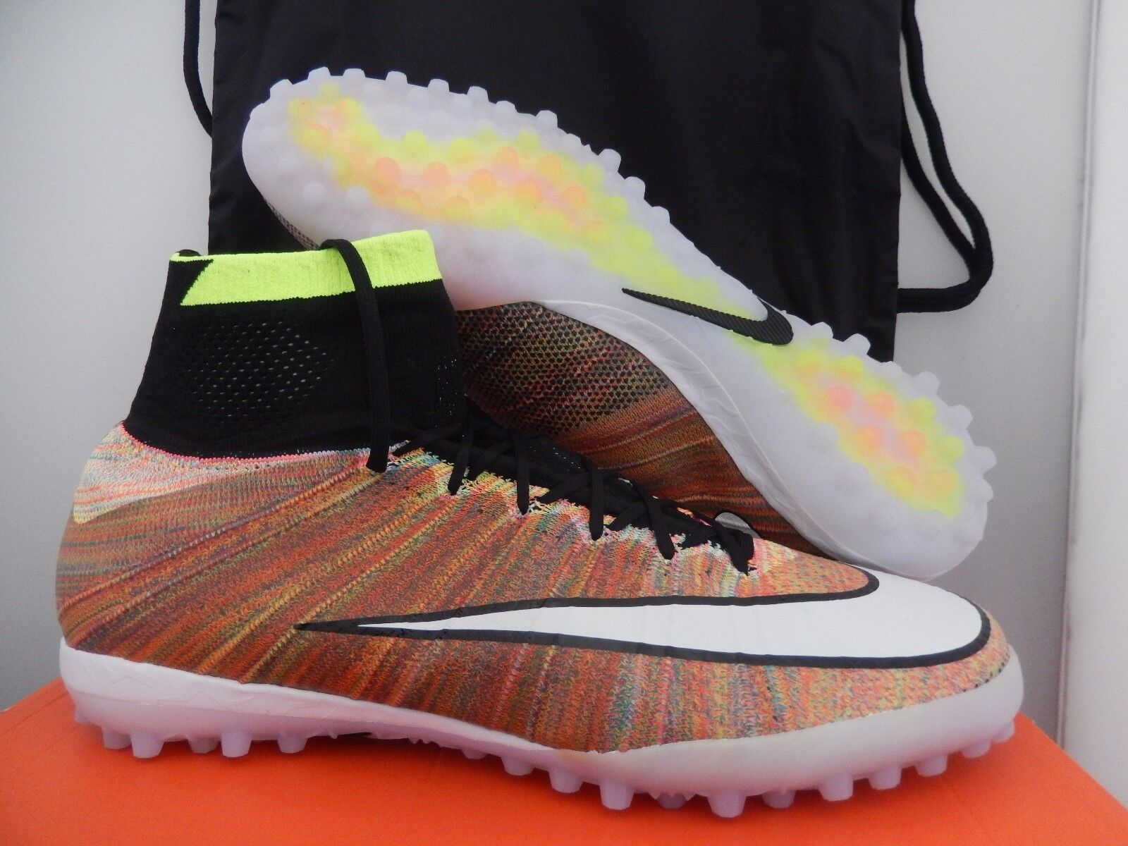 MENS NIKE MERCURIALX PROXIMO STREET TF  MULTI Color  SZ 12.5 [718777-010]
