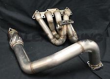 PLM T3 Top Mount Turbo Manifold and Downpipe B16 B18 B20 Honda Acura