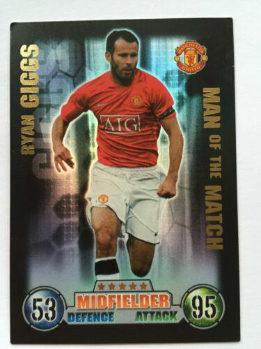 Man of the Match Attax  Motm 2007-2008 UK Football Team Player Picture Card