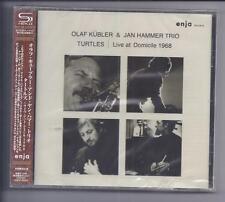 OLAF KÜBLER& JAN HAMMER TRIO Turtles Live at Domicile 1968 JAPAN SHM cd Enja NEW