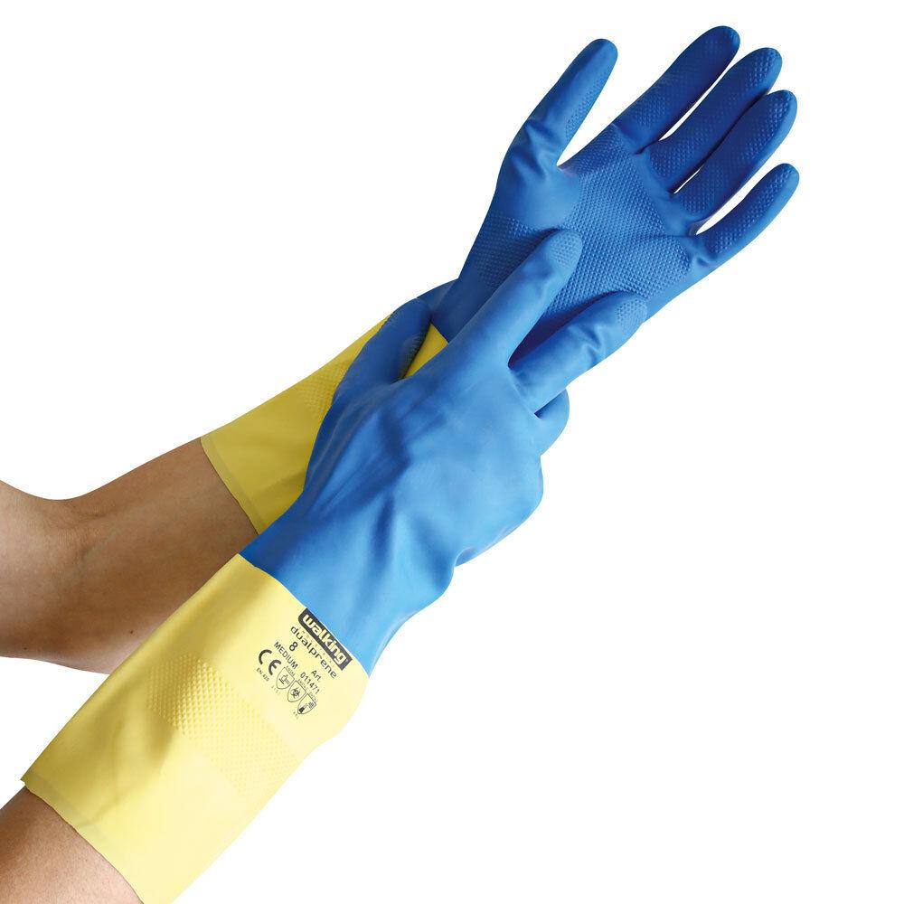 Chemikalienschutz-Handschuh DUALPRENE   Putzhandschuh   Gummihandschuh